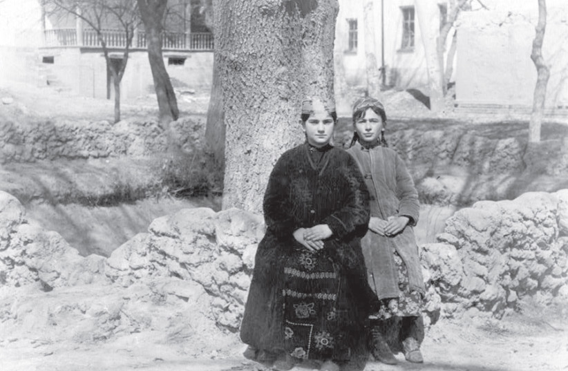 A PHOTOGRAPH of Jewish girls in Samarkand, in what was then Russia sometime between 1909 and 1915. (photo credit: Wikimedia Commons)