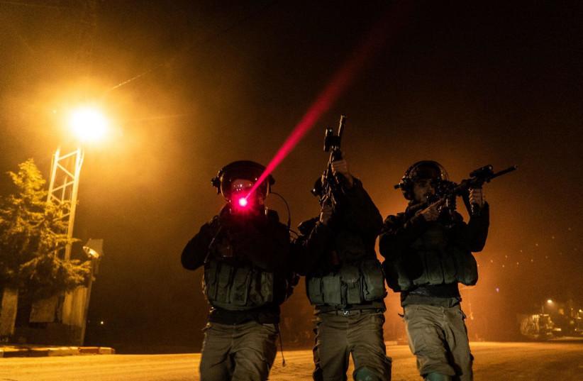 Des soldats des FDI patrouillent en Cisjordanie (crédit photo: FDI)