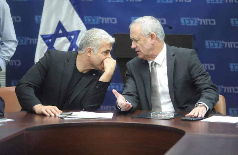 Yair Lapid: If we lose, Israeli democracy is over. (photo credit: MARC ISRAEL SELLEM)