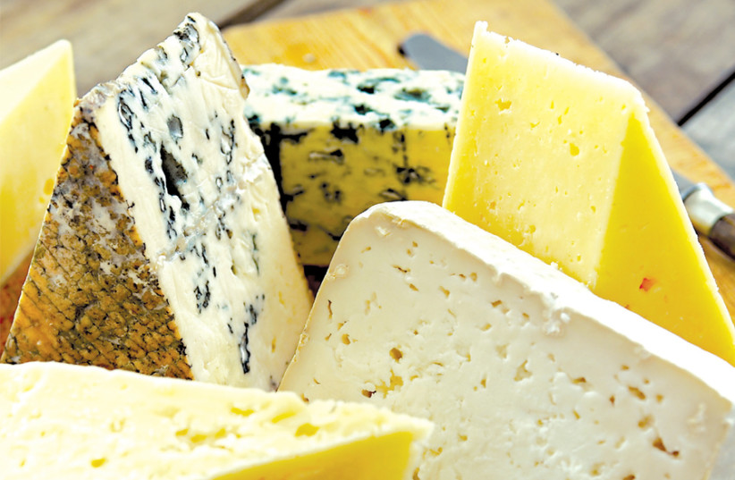 ON SHAVUOT: White wine and cheese, please. (photo credit: SKÅNSKA MATUPPLEVELSER/FLICKR)