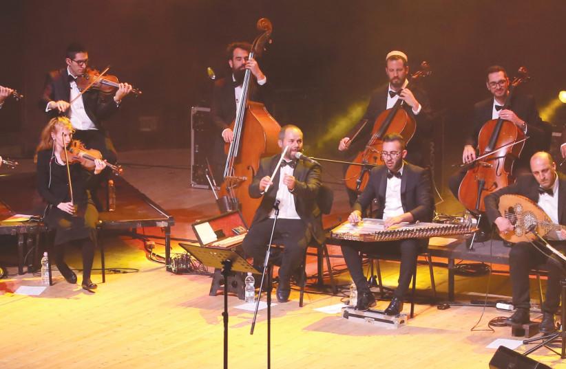 THE FIRQAT El Nour Orchestra. (photo credit: JERUSALEM ART FESTIVAL/DANIEL KAMINSKI)