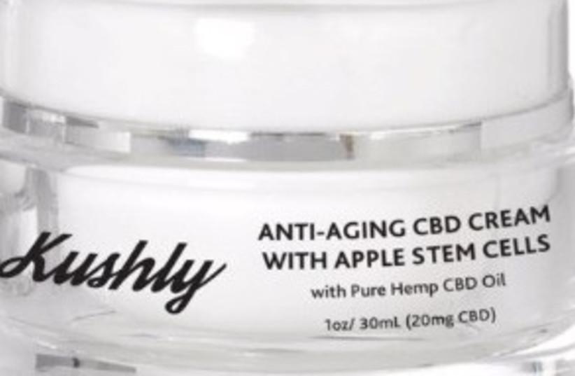 Kushly Anti-Aging CBD Cream with Apple Stem Cells (photo credit: KUSHLY.COM)
