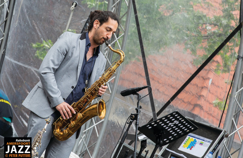 AMIT RABOBANK at the 2019 Amersfoort Jazz Festival.  (photo credit: Courtesy)