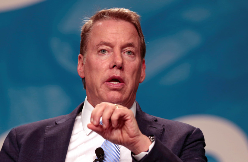 Bill Ford, the executive chairman of American automotive giant Ford Motor Company. (photo credit: REUTERS)