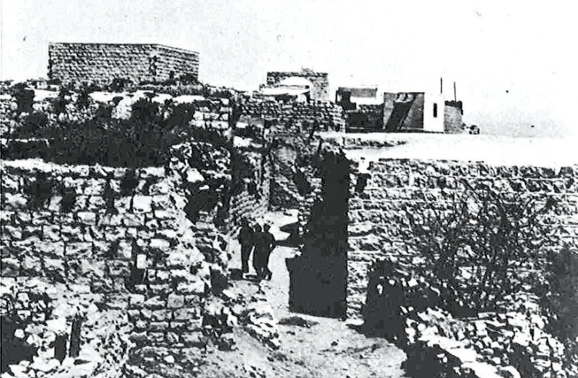 DEIR YASSIN, 1930s: In April 1948, it was the scene of fierce houseto- house fighting. (photo credit: Wikimedia Commons)