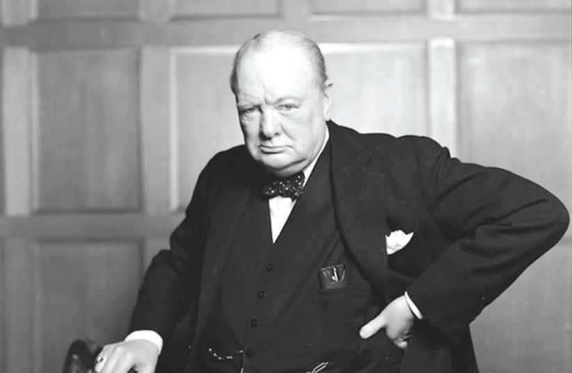 SIR WINSTON CHURCHILL, 1941. (photo credit: BIBLIOARCHIVES/LIBRARYARCHIVES/FLICKR)
