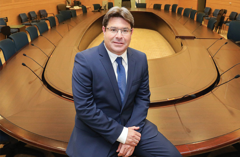 SCIENCE AND TECHNOLOGY Minister Ofir Akunis: Israeli research has never received support to the extent that it was backed by this ministry during the past term of government. (photo credit: MARC ISRAEL SELLEM)