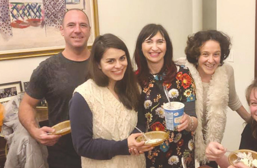 THE JEWISH International Connection hosts over 10,000 people annually in New York, and operates 200 different programs throughout the year, including Shabbat dinners and social, cultural and networking events. (photo credit: Courtesy)