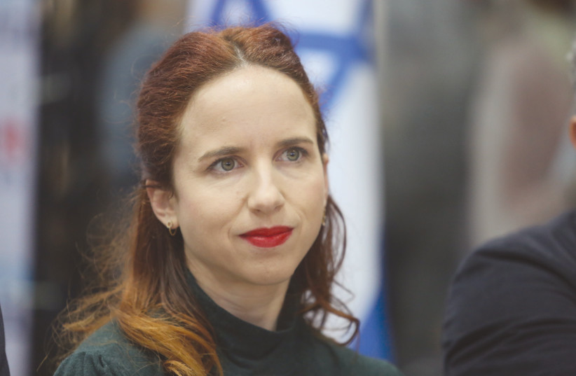 STAV SHAFFIR: The world sees us as only Netanyahu, and his voice is the only voice they hear (photo credit: MARC ISRAEL SELLEM/THE JERUSALEM POST)
