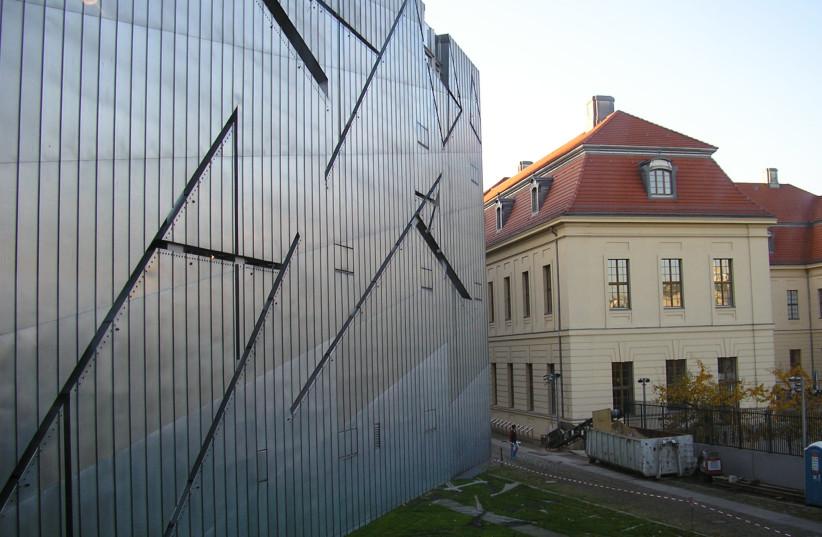 The Jewish museum in Berlin (photo credit: WIKIMEDIA COMMONS/NATHANIEL SAMSON)