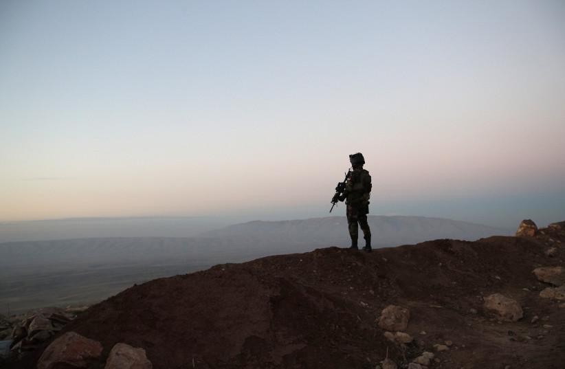 Peshmerga soldier (photo credit: REUTERS)