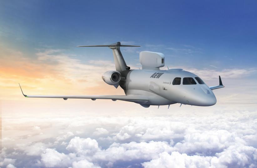 P600 Airborne Early Warning (AEW)  (photo credit: IAI)