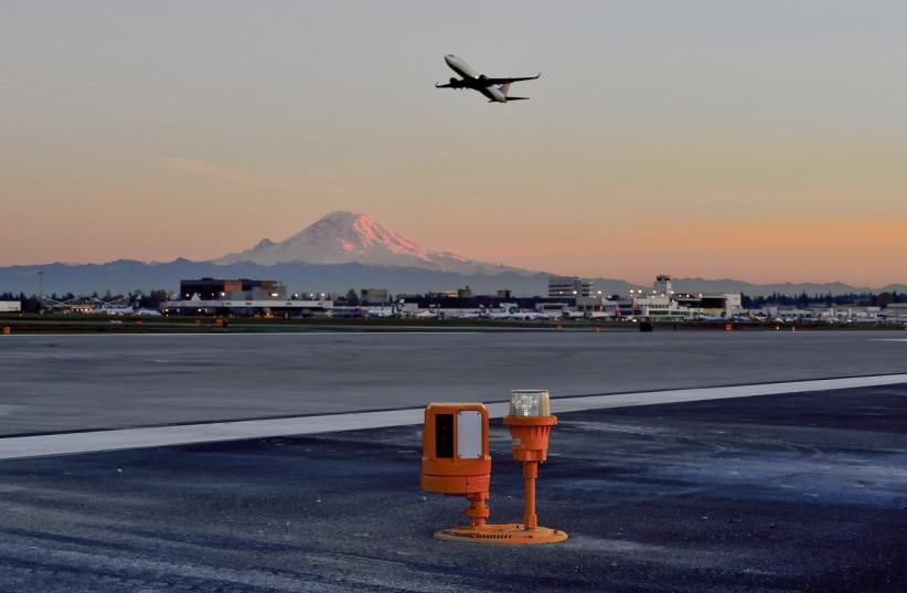 Xsight Systems' RunWize threat detection system at Seattle-Tacoma International Airport  (photo credit: MONI SHAFIR)