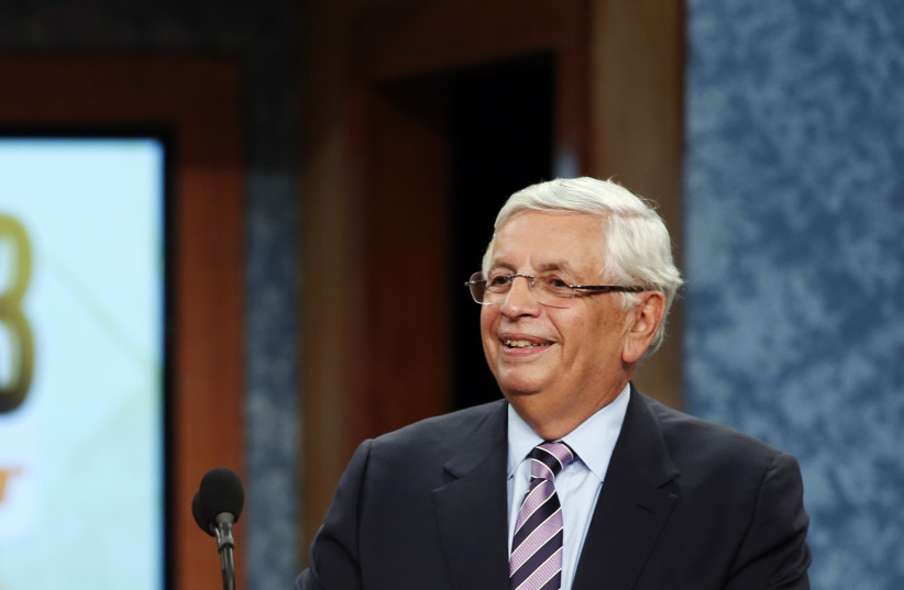 Former NBA Commissioner David Stern (photo credit: KEITH BEDFORD/REUTERS)