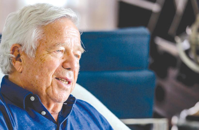 Robert Kraft talks about the Genesis Prize - The Jerusalem Post