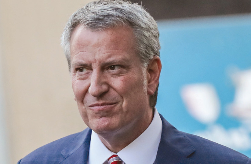 NYC mayor to synagogues: Close for coronavirus or shut down ...