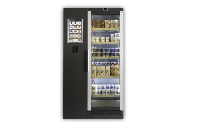 Shekel Brainweigh's artificial intelligence-based Innovendi vending machine (photo credit: SHEKEL BRAINWEIGH)