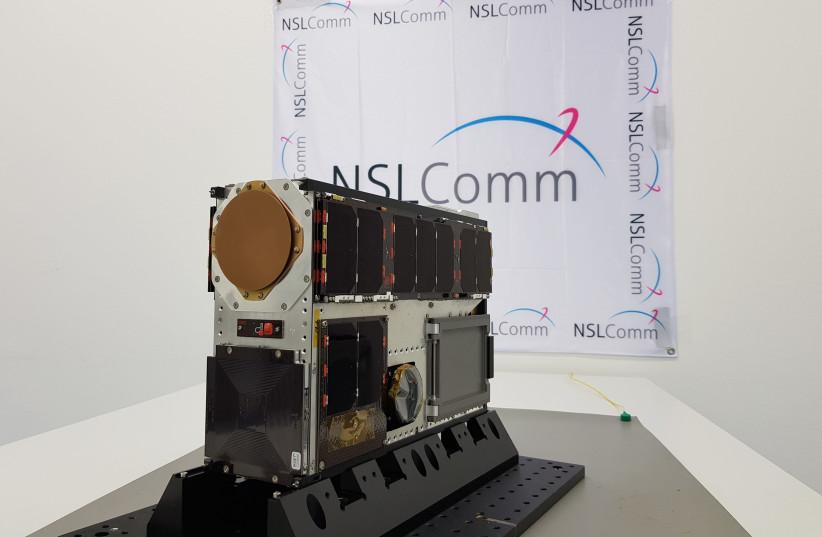 The NSLSat-1  (photo credit: NSLCOMM)