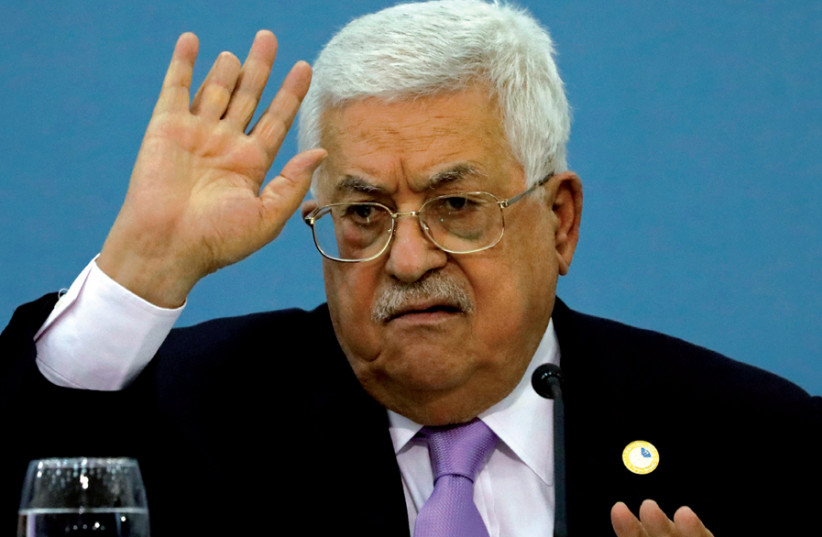 The tragic isolation of the Palestinian Authority
