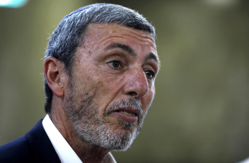 Israel's Education minister Rafi Peretz (photo credit: MENAHEM KAHANA / REUTERS)