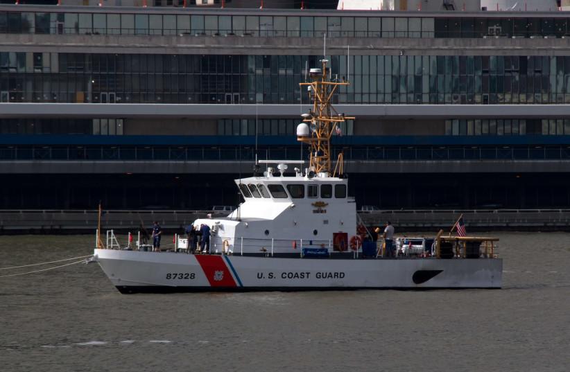 US Coast Guard  (photo credit: TONY HISGETT)