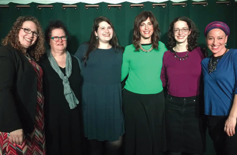 THE RELIGIOUS ladies bringing the laughs. (photo credit: DAVID KILIMNICK)