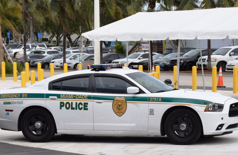 Miami Dade Police car, illustrative (photo credit: Wikimedia Commons)