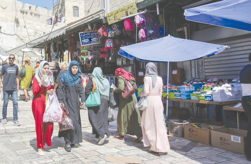 ONE OUT OF four women in the Arab community have faced verbal or physical violence in the past year.  (photo credit: MARC ISRAEL SELLEM/THE JERUSALEM POST)