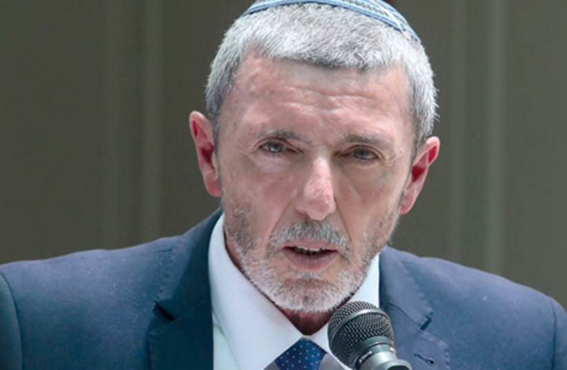 Rabbi Rafi Peretz, the head of Bayit Yehudi (photo credit: MARC ISRAEL SELLEM)