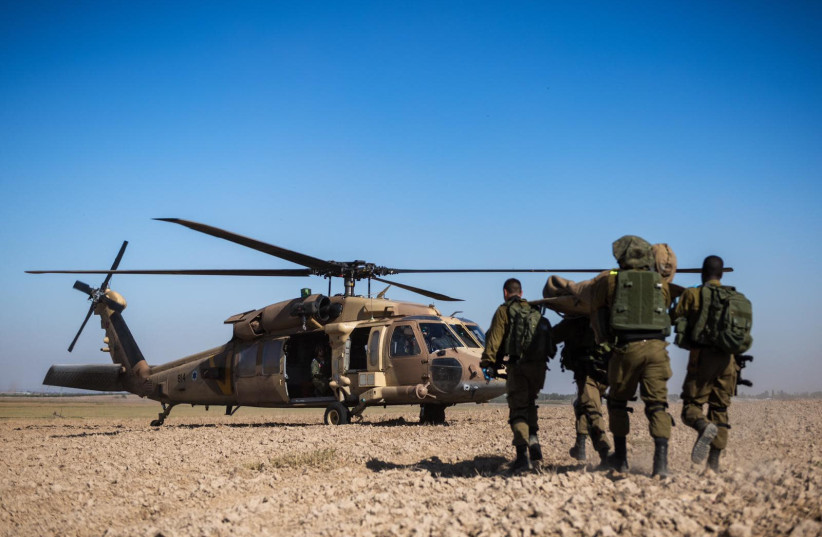 IDF solders of the Southern Command take part in a drill  (photo credit: IDF)