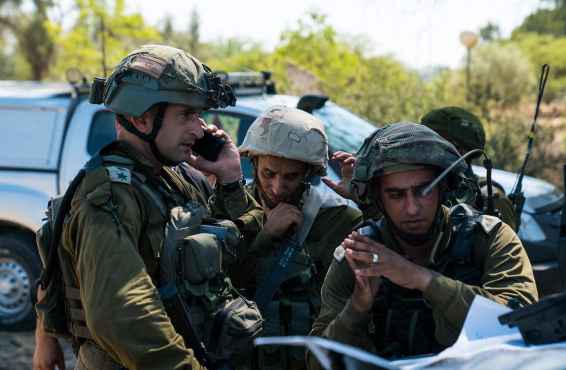 IDF soldiers partake in a drill  (photo credit: IDF)