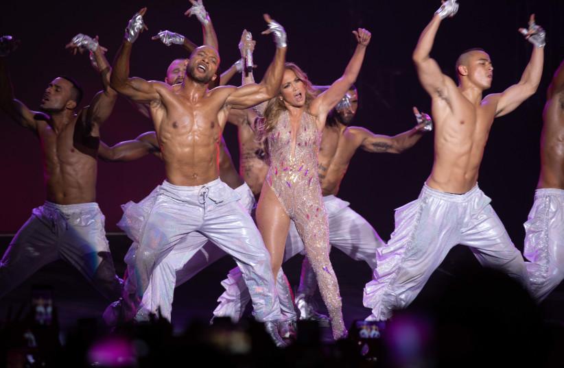 Jennifer Lopez stuns in Tel Aviv (photo credit: EREZ OZIR)