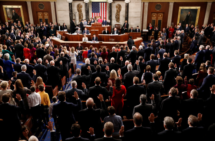 US House passes resolution supporting two-state solution