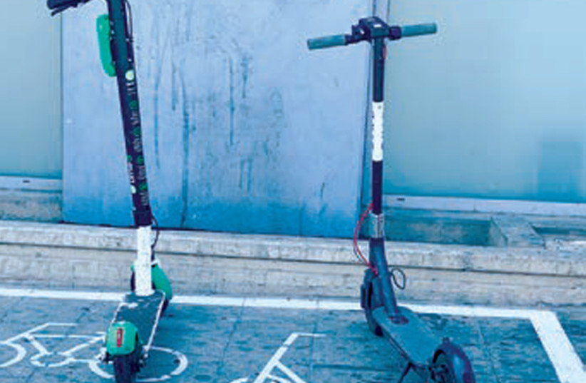 Youth killed in Tel Aviv electric scooter accident used it illegally - The Jerusalem Post
