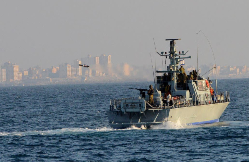 Israeli Navy boat  (photo credit: FLICKR)