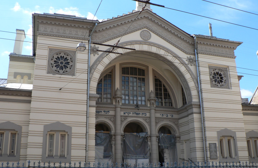 Synagogue in Vilnius, Lithuania (photo credit: Wikimedia Commons)