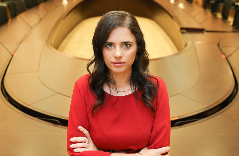 Ayelet Shaked: 'It is our obligation to apply sovereignty'