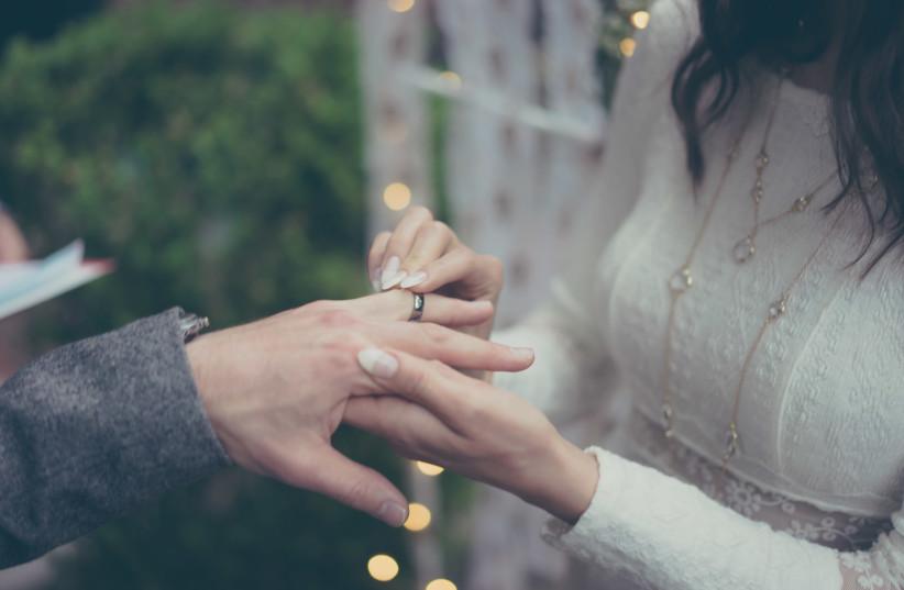 Wedding ring (illustrative) (photo credit: INGIMAGE)