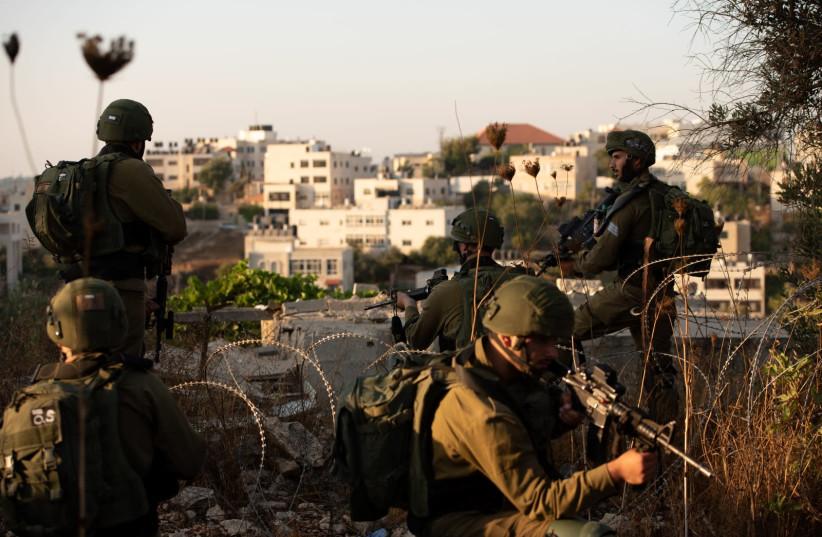 IDF manhunt for terrorist who murdered Rina Shnerb (photo credit: IDF SPOKESMAN'S UNIT)