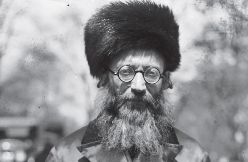 RABBI ABRAHAM ISAAC KOOK, 1924 (photo credit: Wikimedia Commons)