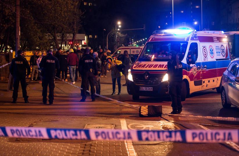 Polish police, illustrative (photo credit: REUTERS)