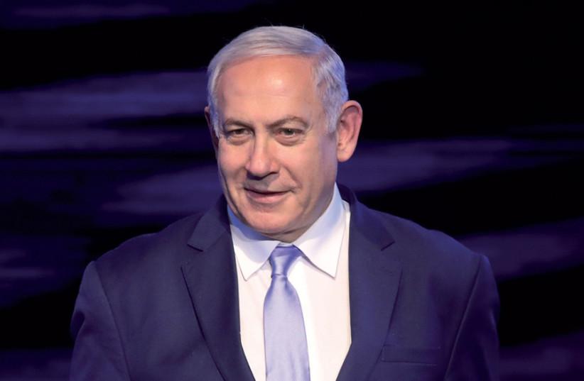 Can he win again? Prime Minister and Likud leader Benjamin Netanyahu (photo credit: MARC ISRAEL SELLEM)