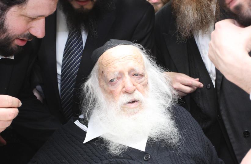 Rabbi ultra-orthodoxe Chaim Kanievsky (crédit photo: Wikimedia Commons)