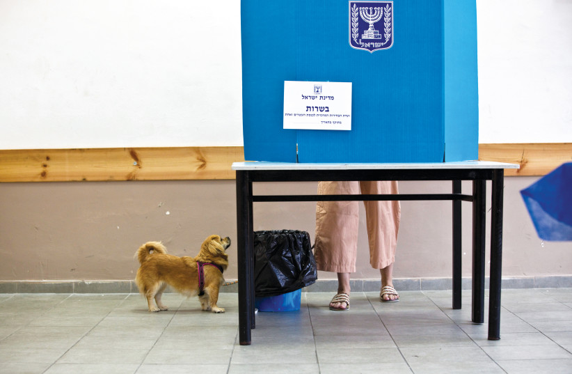 Israel elections:time to vote. (photo credit: REUTERS)