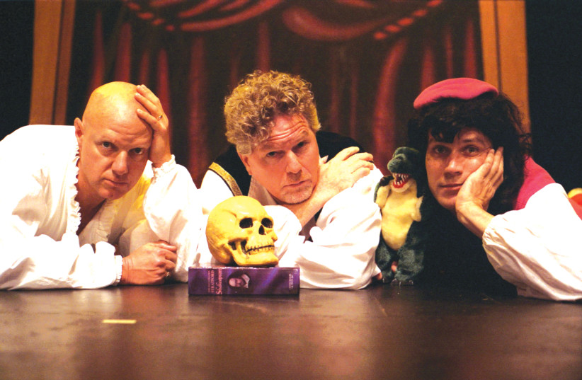 'HAMLET'S BIG ADVENTURE' will be performed by the aptly named Reduced Shakespeare Company (photo credit: DANIEL-COSTON)