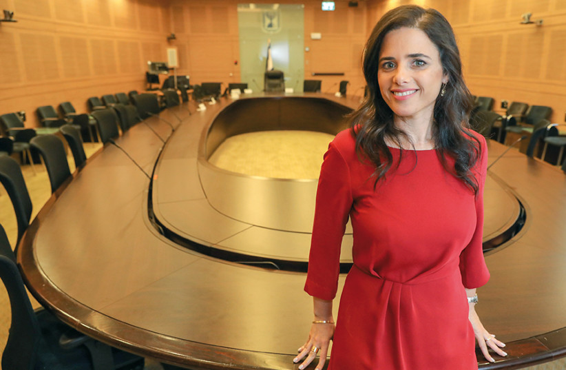 Ayelet Shaked (photo credit: MARC ISRAEL SELLEM)