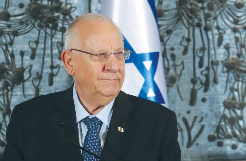 The ultimate decider: President Reuven Rivlin (photo credit: MARC ISRAEL SELLEM)
