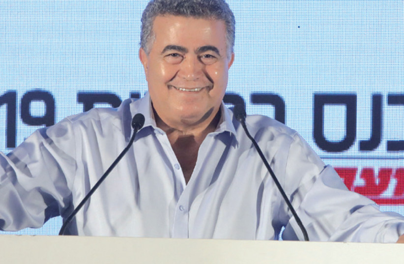 Amir Peretz: With us Hamas will not get a single dollar from Israel