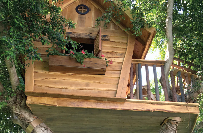 THE KID in you will rejoice at the Dan Caesarea's treehouses. (photo credit: SHARON FEIEREISEN)