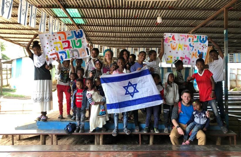 "Ethiopian Jews say, ""Next Year in Jerusalem"" (photo credit: Courtesy)"
